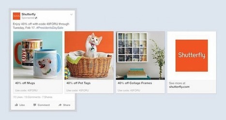 Facebook lance Product Ads pour concurrencer Google Shopping. | Geeks | Scoop.it