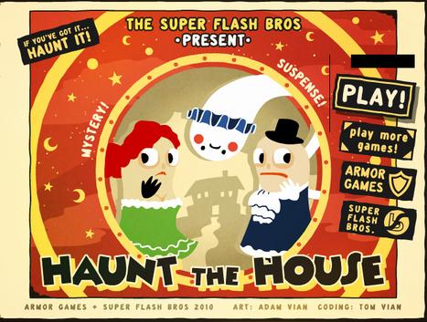 Maison hantée | Jeux Halloween | Scoop.it