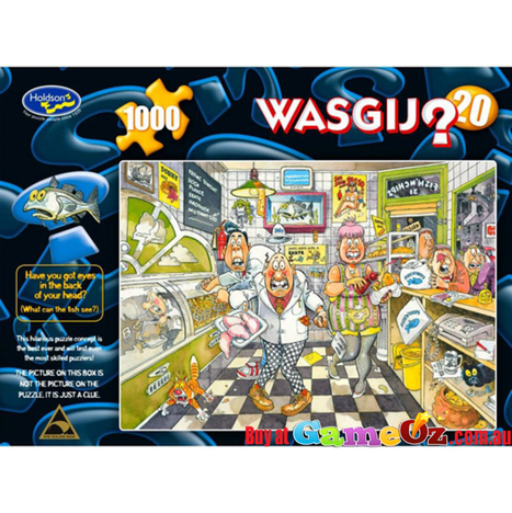 Wasgij Jigsaw Puzzle by Graham Thompson | Puzzles | Scoop.it