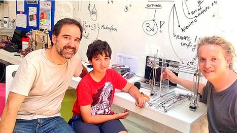Impresora 3D de bajo coste, sencilla y hecha en Uruguay | Tecnología y Educación | Scoop.it