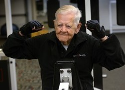 Fit at 102: Ray Clark is proof that it's never too late to start exercising