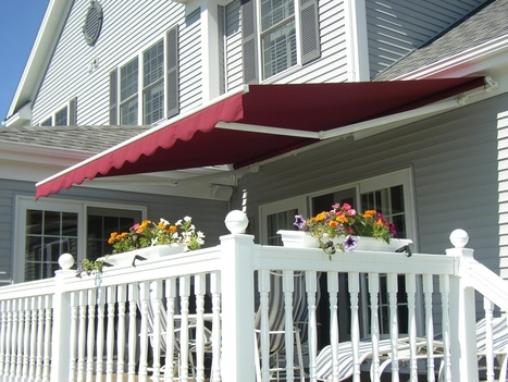 Retractable Patio Awnings   Décor your Patio or Deck with Patio Awnings   alekoawning   Scoop.it