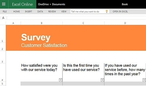 Best Free Survey Templates for Excel | Free Microsoft Office Templates | Scoop.it