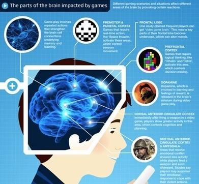El efecto de los videojuegos desde el punto de vista neurológico [Infografía] | Transmedia y cibercultura | Scoop.it