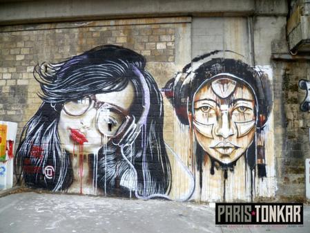 Kristx et Andrew Wallas | Paris Tonkar magazine | Scoop.it