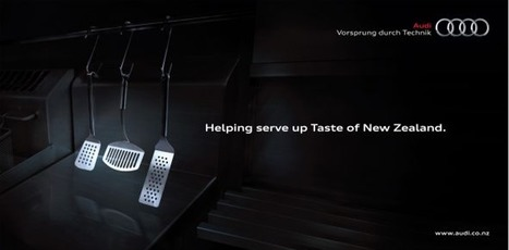 Audi NZ: Taste of New Zealand Sponsorship | Ads of the World™ | Future Of Advertising | Scoop.it