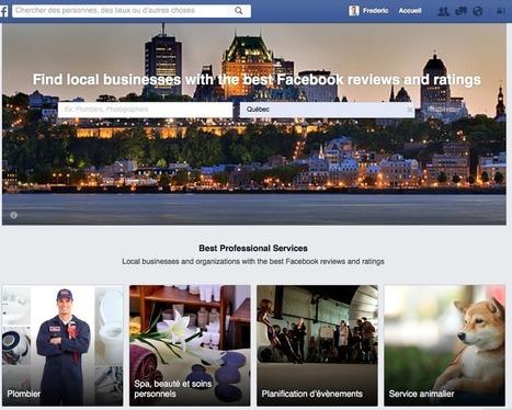 Facebook à l'assaut des PagesJaunes, TripAdvisor et Yelp ! | Animation Numérique de Territoire | Scoop.it