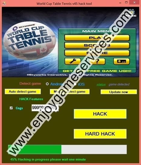World Cup Table Tennis v45 hack tool | game | Scoop.it