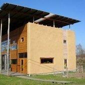 Habitat Végétal | Construire en paille | METIERS BATIMENT | Scoop.it
