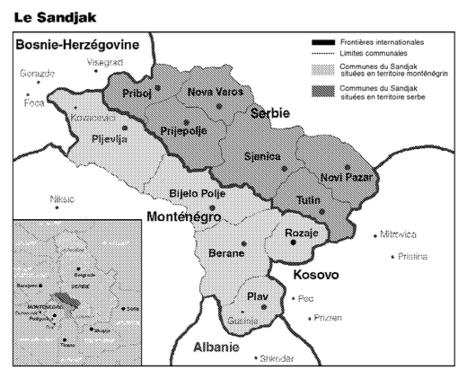 Le Sandjak de Novi Pazar. Un foyer de tensions en Europe du Sud-Est (Le courrier des pays de l'Est) | Géographie des Balkans | Scoop.it