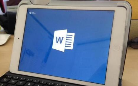 Office for iPad: Word and Excel are major victories, PowerPoint disappoints   Mobile IT for business (en)   Scoop.it