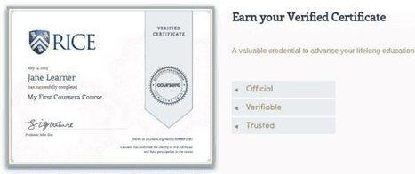 Coursera gana su primer millón de dólares vendiendo certificados de sus cursos | About MOOCs ... | Scoop.it