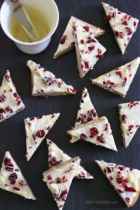 Skinny Cranberry Bliss Bars | Skinnytaste | Hap...