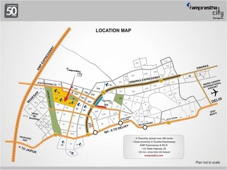 """Ramprastha City PLOTS, Gurgaon II Pataudi Road   Ramprastha City """"PLOTS"""", Sector 92, 93 & 95, Gurgaon   Scoop.it"""