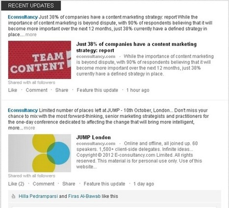 How to optimise LinkedIn's new company pages | CIM Academy Digital Marketing | Scoop.it