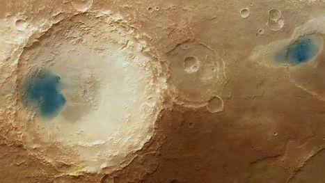 What are these strange blue splotches on the surface of Mars?   Gavagai   Scoop.it