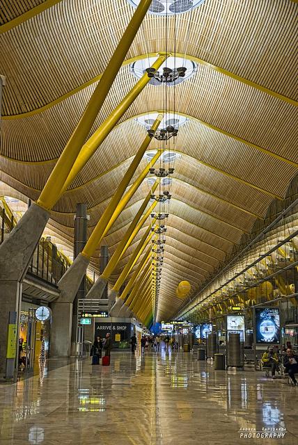 T4 terminal - Madrid airport By Andrea Rapisarda | AirportBox | Scoop.it