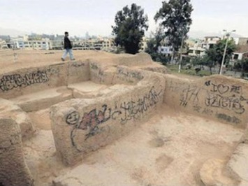 Pre-Inca ruins covered with graffiti in Lima | The Archaeology News Network | Amériques | Scoop.it