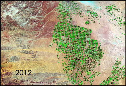 Incredible NASA images of Saudi Arabia's careless use of water | Water Stewardship | Scoop.it