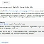 Google Webmaster Tools Gets Alerts For Search Queries Data | SEO Daily Dose | Scoop.it