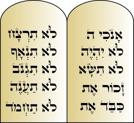 The Ten Commandments in the Bible - All About Bible | All About Bible | Scoop.it