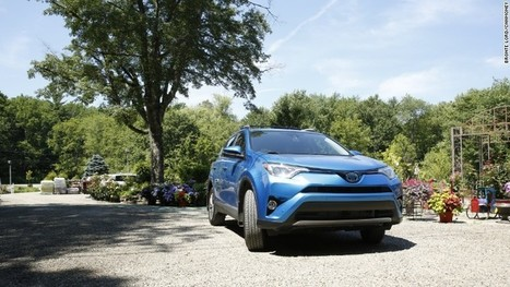 The only thrill in driving Toyota's Rav4 Hybrid is the gas mileage | Business and the Environment | Scoop.it