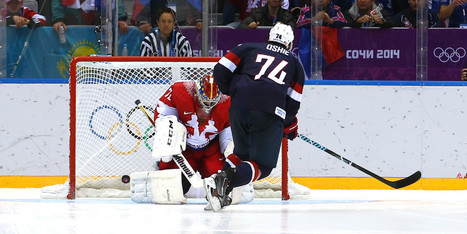 T.J. Oshie Lifts U.S. Hockey Team Over Russia With Four Goals In Thrilling Shootout | It's Show Prep for Radio | Scoop.it