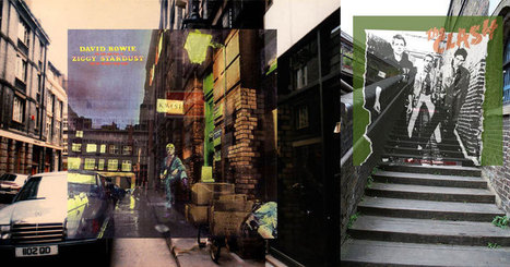 Famous Album Covers Superimposed onto their Actual Locations | ESL- EFL and Art | Scoop.it