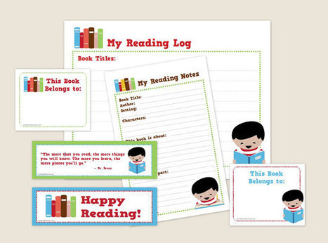 Creative Mamma » Free Printable: Reading Kit for Kids! | Supporting Children's Literacy | Scoop.it