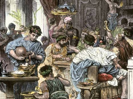 Dinner at the Pompeii takeaway: The empire's feasting was legendary, but what did ordinary Romans eat?   Historical gastronomy   Scoop.it