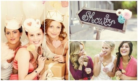 How to Plan a Bridal Shower | Wedding planning website | Scoop.it