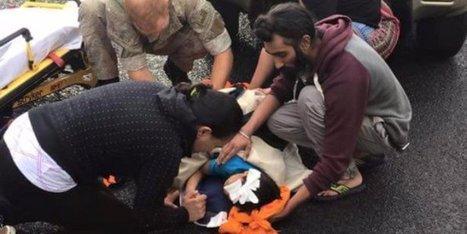 Sa religion l'interdit. Mais pour aider un enfant en sang, un sikh enlève son turban.   Inspiration - Emotion - Motivation - Fun   Scoop.it