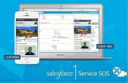 Salesforce1 SOS for Apps – The Customer Support Game Changer for 2015 | Digital Marketing | Scoop.it