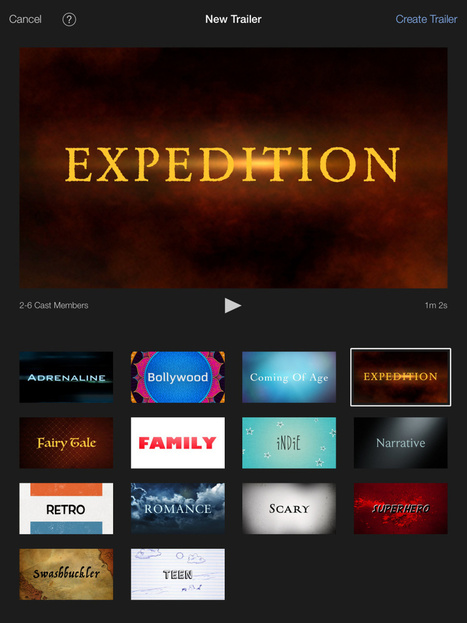 iMovie Trailers - A Fun & Easy Icebreaker! | Book Trailers Secondary Students | Scoop.it