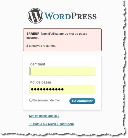 Comment protéger l'interface d'administration de WordPress. | Cours Informatique | Scoop.it