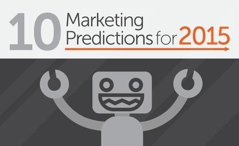 Content, Mobile, Personalization - Digital Marketing Predictions for 2015 - #infographic | Web e Social Media Marketing | Scoop.it