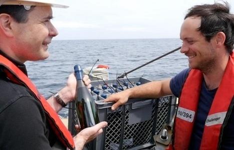 Vin: De grands crus bordelais immergés dans l'Atlantique | Le vin quotidien | Scoop.it