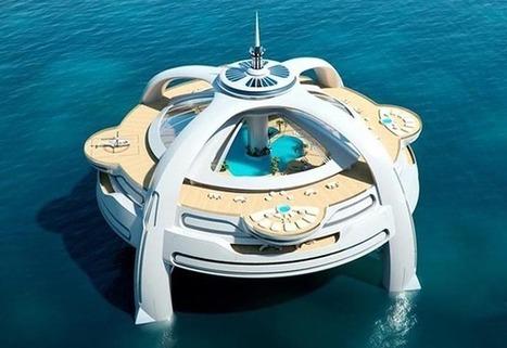 "Floating Island ""Project Utopia""   The secrets of luxury   Scoop.it"
