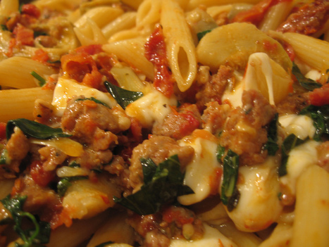 Spicy Italian Sausage with Pasta - A Lot Of Recipes | recipes | Scoop.it