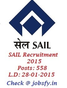 SAIL Bhilai Recruitment 2015 Notification for 558 Assistant, Operator cum Technician Posts  « jobsfy | Latest Job Alerts | Scoop.it