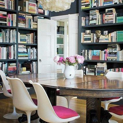 12 Home Library Ideas That Are Top Shelf   Library thing   Scoop.it