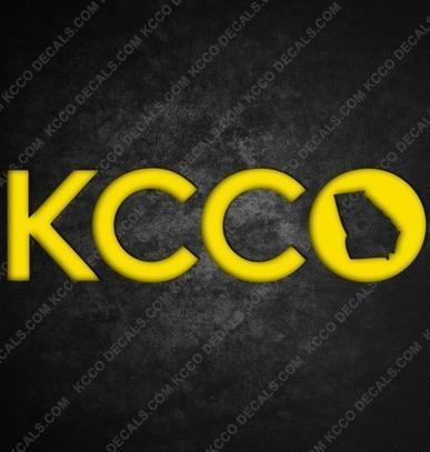 #Georgia  #KCCO Sticker - KCCOdecals.com | KCCO | Scoop.it