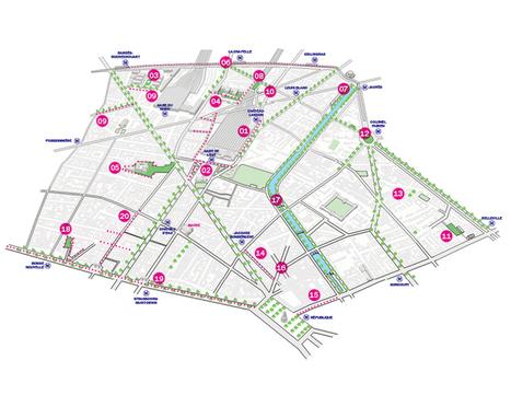 La carte des projets | Le 10ème | Scoop.it