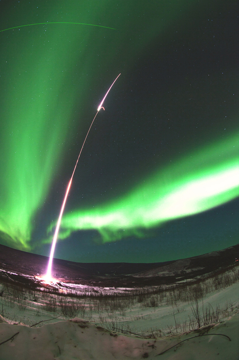 Scientists launch rocket into aurora - PhysOrg.com | Arecibo Observatory | Scoop.it