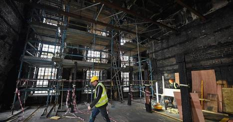 Restoring a Charles Rennie Mackintosh Architectural Gem From the Ashes | News in Conservation | Scoop.it