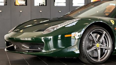 I Can't Stop Staring At This Green Ferrari 458   Ferrari Journal   Scoop.it