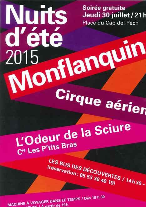 Jeudi 30 juillet - Les Nuits d'été - Monflanquin | Revue de Web par ClC | Scoop.it
