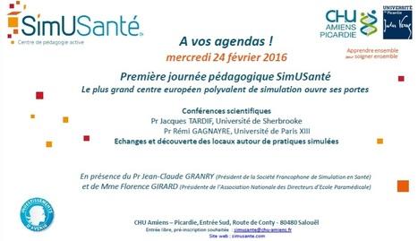 IDEFI SimuSanté: Journée pédagogique d'ouverture le 24 février 2016 | IDEFI: Initiatives d'excellence en formations innovantes | Scoop.it