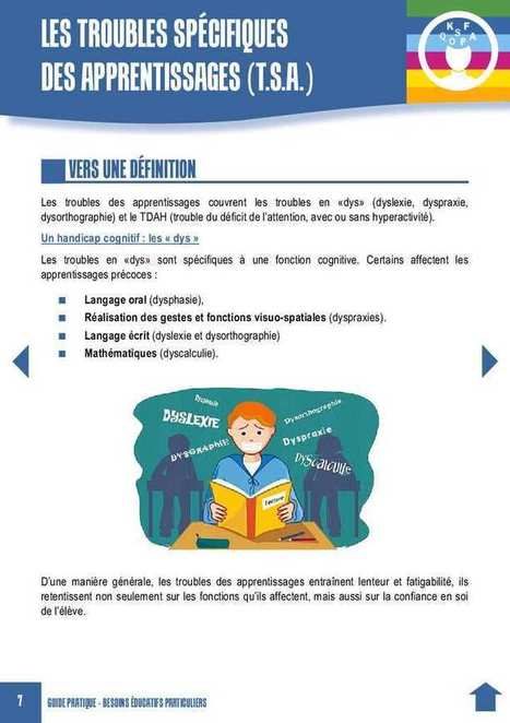 Guide pratique des Besoins Educatifs Particuliers - differenfance.over-blog.com | Contre l'Éducation. Tout contre. | Scoop.it