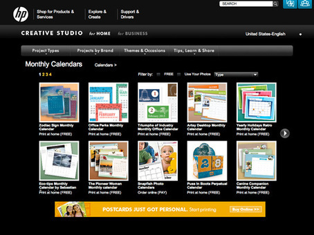 10 free 2013 calendar templates for designers | Graphic design | Creative Bloq | Creative Digital Media | Scoop.it